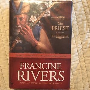 Hardback Francine Rivers book The Priest